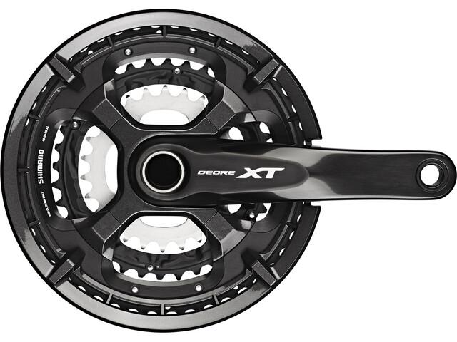 Shimano Deore XT Trekking FC-T8000 Krank 10-speed 48-36-26 tænder, black